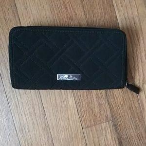 Black Vera Bradley Wallet